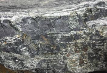 Steel blue grey stone